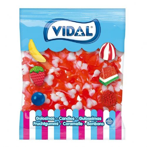 VIDAL JELLY BONES RED & WHITE x250x5p